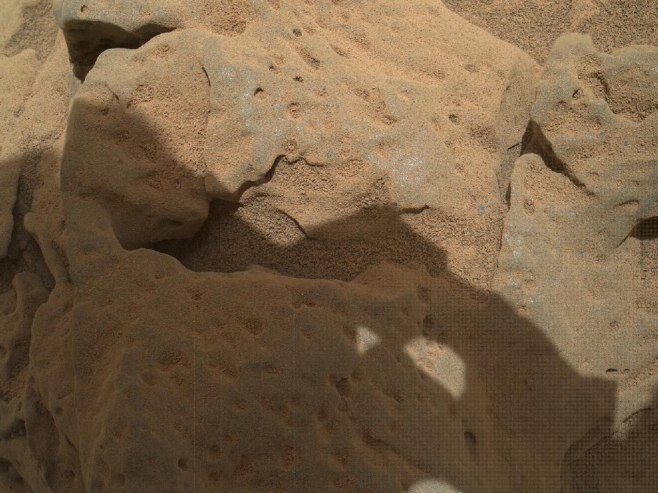 органические соединения на Марсе